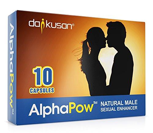 AlphaPow (ORIGINAL Transparente Kapseln) Ultra Strong Alle Natürliche Männliche Ergänzung Energie