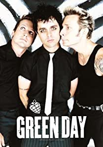 Green Day - Band Poster - Posterflagge 100% Polyester - Grösse 75x110 cm