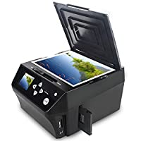 DIGITNOW HD 22MP Photo & Film Digitizer Pictures Multi-function Combo Scanner ???Includes Free 8GB Memory Card! | Convert Photos and Film to Digital JPG Files