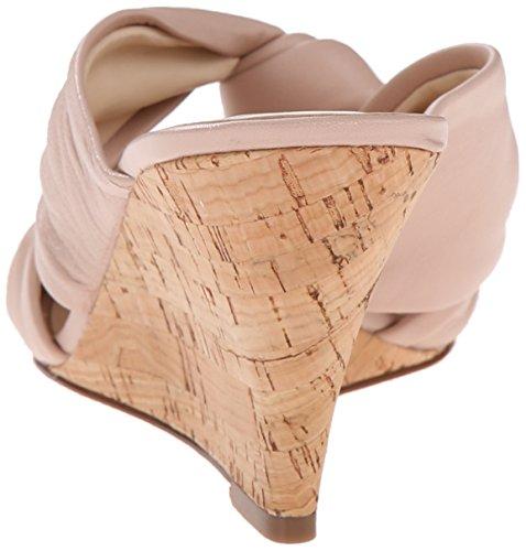 Nine West Kessie cuir Wedge Sandal Light Natural