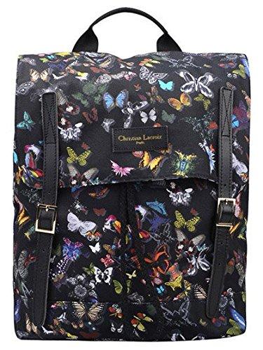 Sac A Dos Christian Lacroix Butterflies Noir