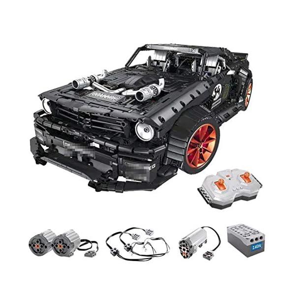 Tosbess Technic Auto Sportiva Ford Mustang, 3168 Pezzi Blocchetti di Costruzione Compatibile con Lego Technic 2 spesavip