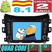 Nissan NAVARA/NP300 Android 8.1 Quad Core 2GB RAM 16 GB ROM GPS Radio Coche
