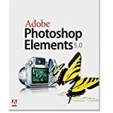 Picture Of Adobe Photoshop Elements - ( v. 5.0 ) - complete package - 1 user - CD - Win - International English