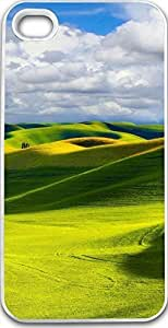 Dseason Iphone 4S case, Slim Hard Unique Design The grass under eyes empty