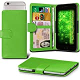 Fone-Case (Green) Archos 50f Helium Lite Case Clamp Style