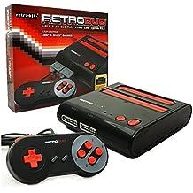 Console NES + Super NES Retro Duo - Noire et Rouge