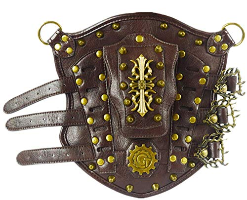 Shu li Herren Damen Mode Steampunk Requisiten Braun Outdoor ()