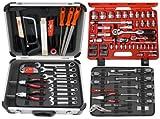 Famex 728-19 Werkzeugkoffer Komplettset Top Qualität, mit 66-teiligem Steckschlüsselsatz
