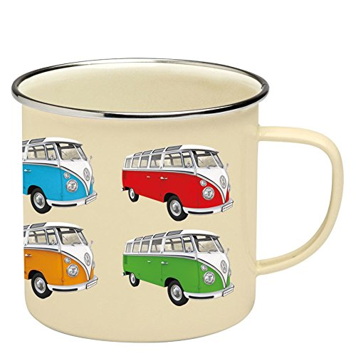 Brisa VW Collection VW T1 Bus Tasse emailliert 500ml - Bulli T1 Parade