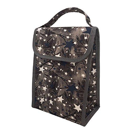 Hhgold borsa isolante porta pranzo stagna alimenti viaggio termica ufficio (colore : nero)