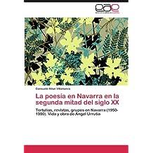 La poesía en Navarra en la segunda mitad del siglo XX