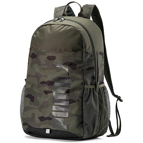 Puma Unisex - Erwachsene Style Backpack Rucksack, Forest Night-Camo AOP, OSFA -