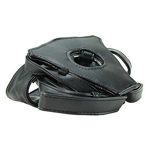 Preisvergleich Produktbild LUX FETISH Patent Leather Strap-on Geschirr schwarz