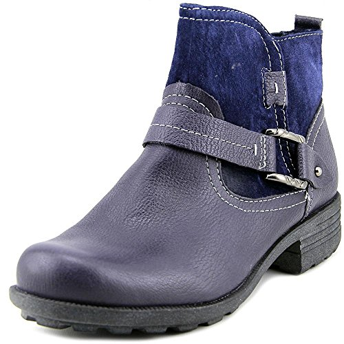 Mode Blue Earth Admiral Leder Origins stiefeletten Rund Paris Breit wTTXBq6U
