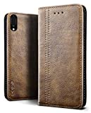 SLEO Case for Sony Xperia L3 Case, Luxury Retro Wallet