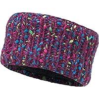 Buff Knitted y polar Headband yssik Braga, amaranto Purple, One size