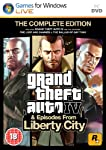 The Grand Theft Auto IV Complete Edition developed by Rockstar North and produced by Rockstar Games. It contains GTA IV and Episodes from Liberty City as two stand alone games. An open world action-adventure video game, the Grand Theft Auto IV PC gam...