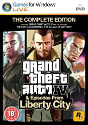 Grand Theft Auto IV: Complete Edition (PC DVD)