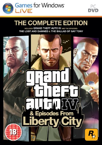 Grand Theft Auto IV: Complete Edition (PC DVD) [UK Import] Gta Iv Spiel