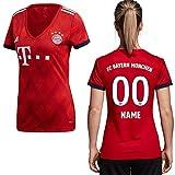 adidas Kopie FCB FC Bayern München Trikot Home Heimtrikot 2018 2019 Damen Spieler Name S Ihr Wunschname