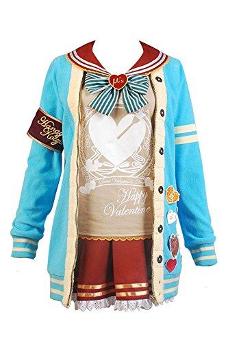 Tojo Kostüm Cosplay Nozomi (LoveLive! Valentine's Day Kotori Minami / Nozomi Tojo / Hanayo Koizumi Uniform Cosplay Kostüm)