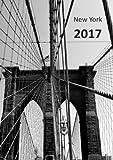 dicker TageBuch Kalender 2017 - NEW YORK BROOKLYN BRIDGE: Endlich genug Platz für dein Leben! 1 Tag = 1 A4-Seite