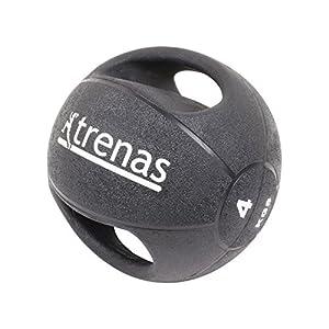 TRENAS Medizinball mit Handgriffen PRO - 4 kg