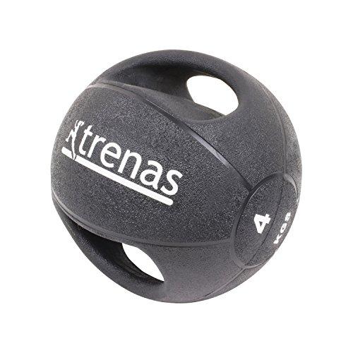 TRENAS PRO Balón medicinal con asas - 4 kg