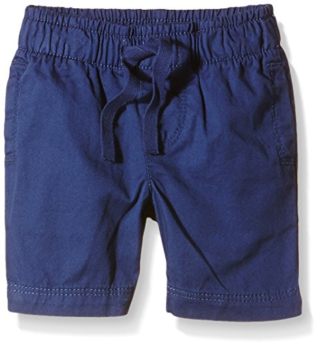 Petit Bateau Bristol, Shorts Bimba, Bleu (Valentin), 18 Mesi
