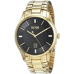 Hugo Boss Homme Analogique Classique Quartz Montres bracelet avec bracelet en Acier Inoxydable - 1513521