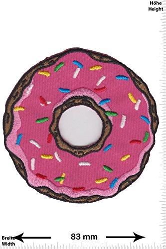 Patch - Donuts - USA Krapfen - Fun - Fun Patch - Adult - Weste - Patches - Aufnäher Embleme Bügelbild Aufbügler (Donut Usa)