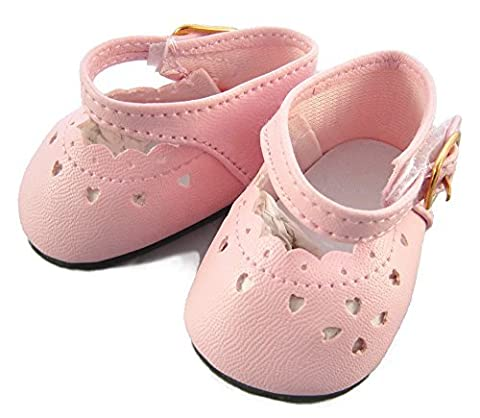 Pink Shoes for Bitty Baby + Twins by Doll Clothes Sew Beautiful by Doll Clothes Sew Beautiful