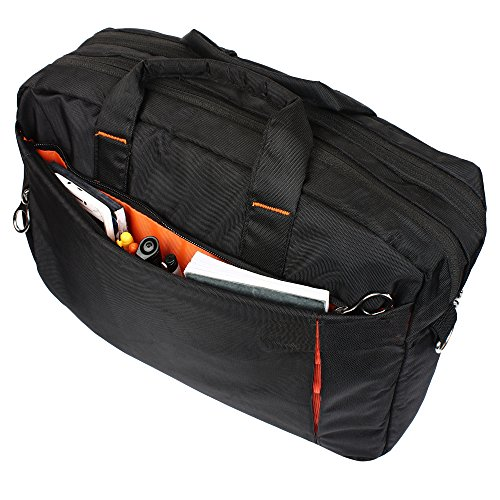 AmazingHind 14-Inch Tablet, MacBook and Laptop Messenger Shoulder Strap Bag for Business, Traveling, College and Office.