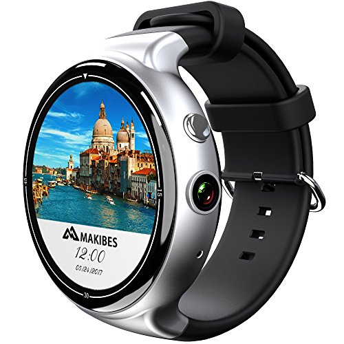 FensAide I4 Air 3G Smart Wrist Watch Phone 2GB 16GB 5MP Camera Voice Search Pedometer Heart Rate Monitor smartwatch