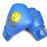 Kinder Boxhandschuhe mit Klettschluss Thai Boxsack Training Sparring Kickboxen Sandsack Boxing Glov