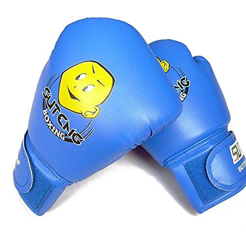 Kinder Boxhandschuhe mit Klettschluss Thai Boxsack Training Sparring Kickboxen Sandsack Boxing Gloves Test