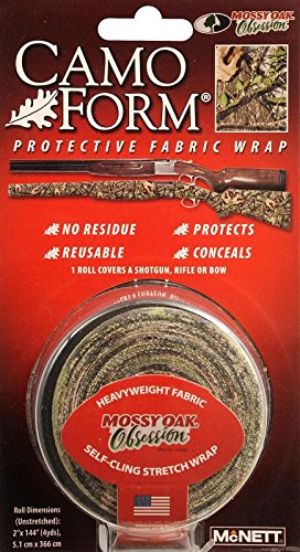 Mcnett Corp Camoform Camo Wrap Obsession - Self-Cling Stretch Wrap (Jig Wrap)