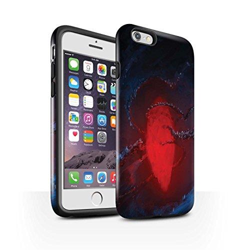 Offiziell Chris Cold Hülle / Glanz Harten Stoßfest Case für Apple iPhone 6 / Elektro-Sturm Muster / Fremden Welt Kosmos Kollektion Einfrieren
