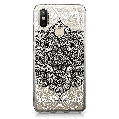 CASEiLIKE® Funda Mi A2, Carcasa Xiaomi Mi A2, Arte de la Mandala 2097, TPU Gel Silicone Protectora Cover