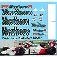 1//43 McLaren Honda MP4//5 F1 Ayrton Senna 1989 Decals TB Decal TBD267