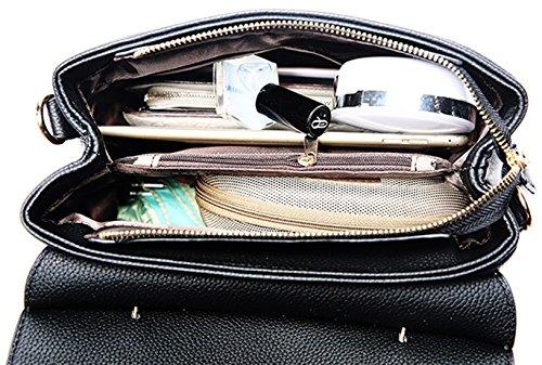 Keshi Pu neuer Stil Damen Handtaschen, Hobo-Bags, Schultertaschen, Beutel, Beuteltaschen, Trend-Bags, Velours, Veloursleder, Wildleder, Tasche Grau