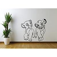 Lion King Nala & Simba Wall Sticker CH22