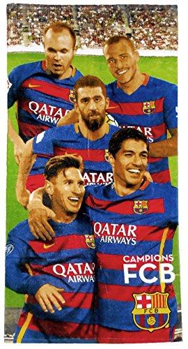 FC Barcelona Messi Toalla de playa/toalla, 70x 140cm, Original licencia oficial