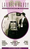 Laurel & Hardy - Their Purple Moment / Should Married Men Go Home? / Early to Bed [VHS]