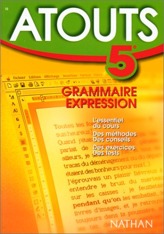 N°10 - Grammaire - Expression - 5e