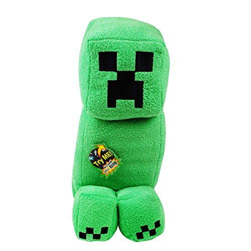Creeper Plush - with Sound - Minecraft - 35cm 14""