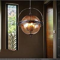 COCO Luce di soffitto American Style Retro creativo Ristorante Bar lampade Bar Cafe industriale Vento (Hex Parete)