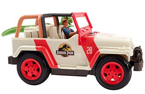 Mattel FNH12 Jurassic World Jeep Wrangler Raptor Attack RC (Raptor Matchbox)