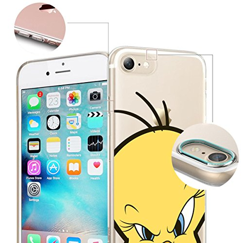"FINOO iPhone 6 und 6S Silikon Case TPU Handy-Hülle ""Close Up Series"" Motiv 